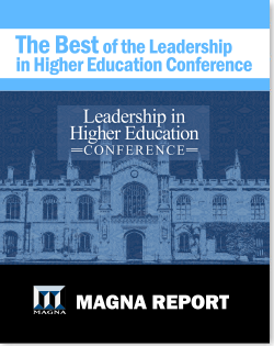 Best of 2016 Leadership In Higher Education Conference