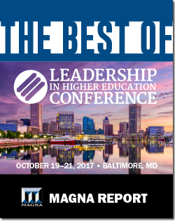 Best of 2017 Leadership In Higher Education Conference